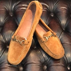 J. Crew Suede Driving Moccasins